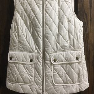 Croft and barrow puffy vest